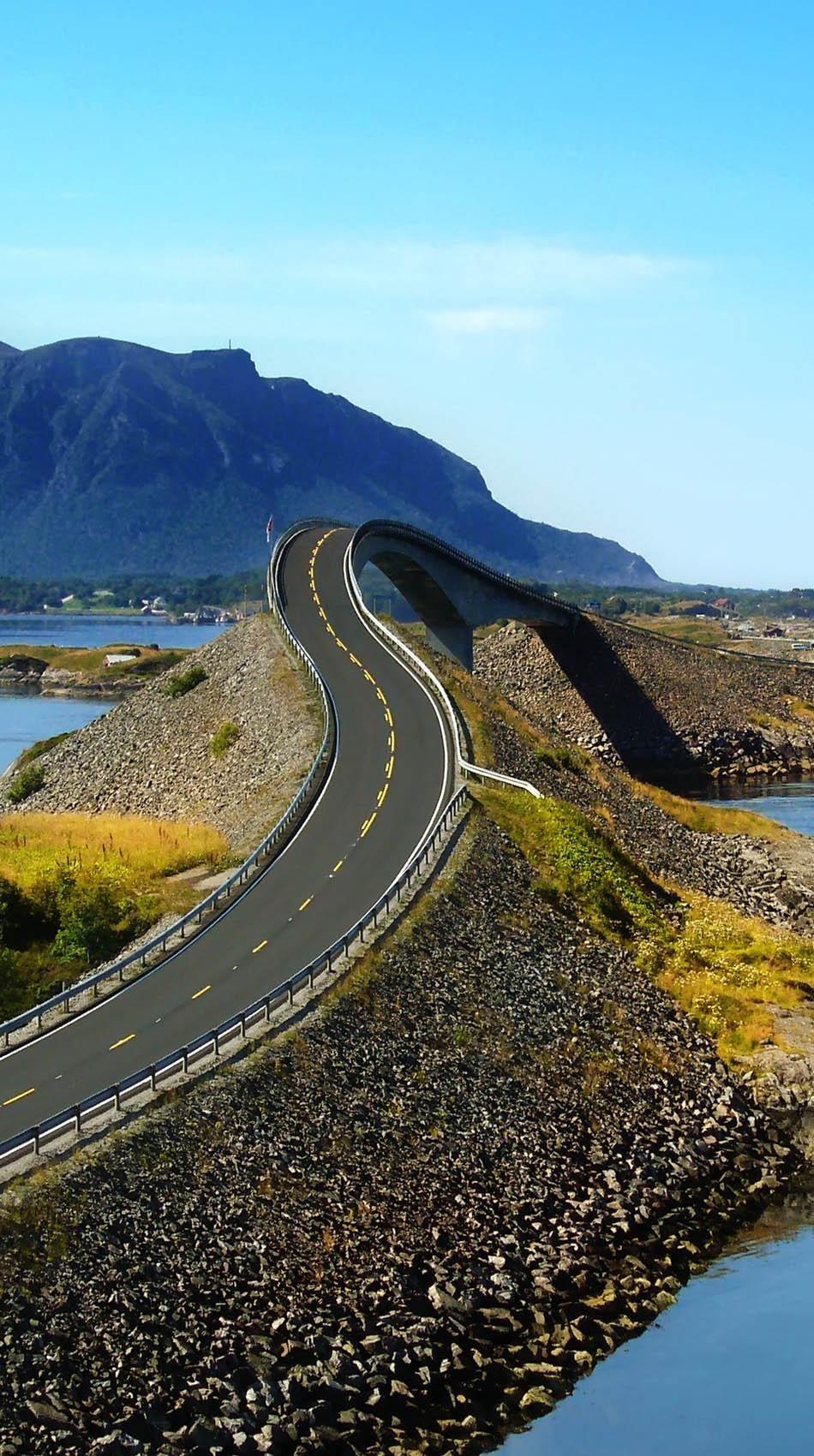 Famous Atlantic road, Norway (Atlanterhavsvegen)   23 Roads you Have to Drive in Your Lifetime
