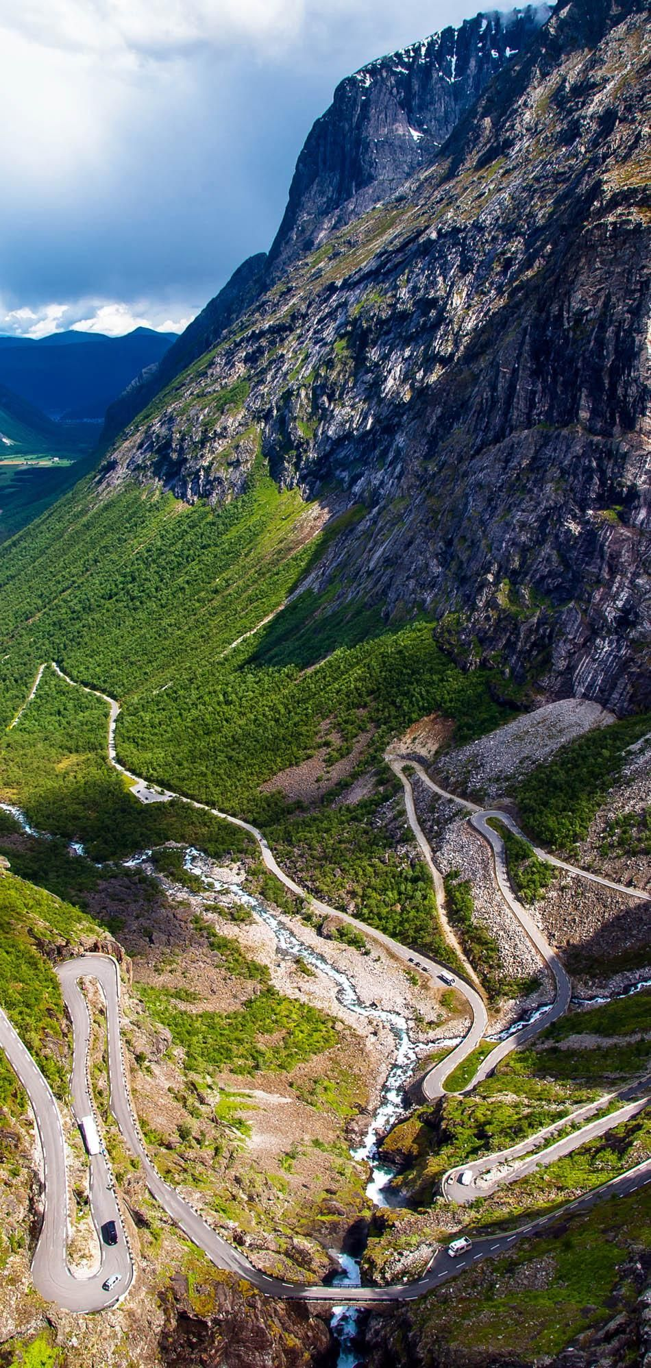 Trollstigen - famous road in Norwegian mountains | 23 Roads you Have to Drive in Your Lifetime