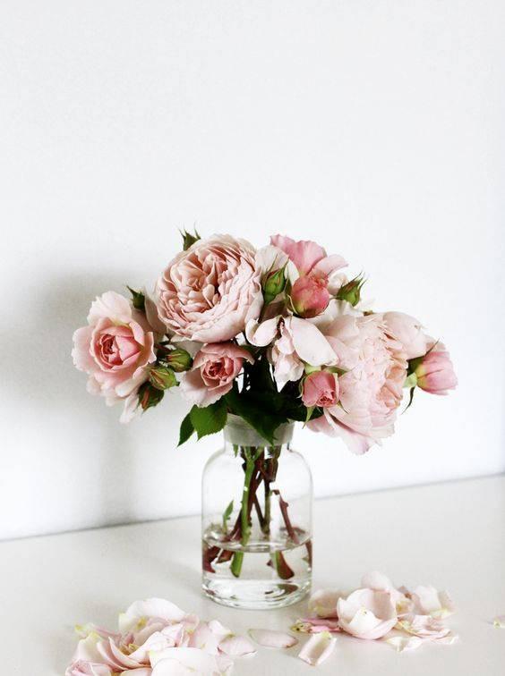Spring Flower Arrangements pink peonies