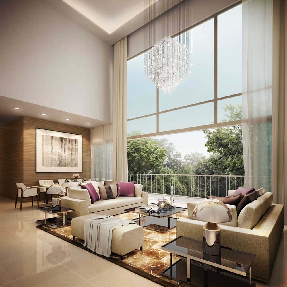Tips for Decorating with a High Ceiling