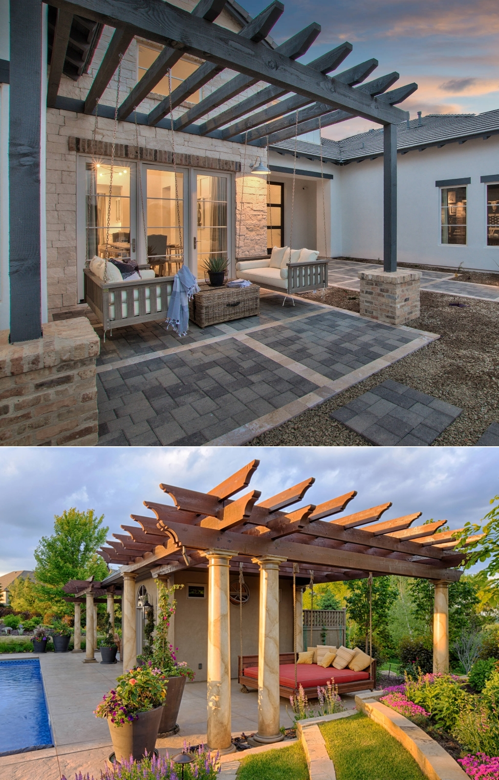 How to Decorate with a Pergola