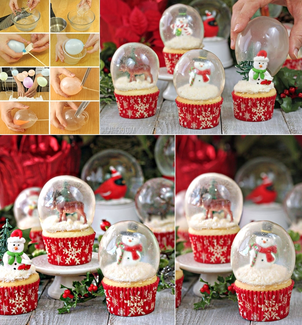 Cute Christmas Cupcakes to Satisfy Your Sweet Tooth