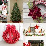 Χριστουγεννιάτικα Χειροποίητα Στεφάνια και Γιρλάντες