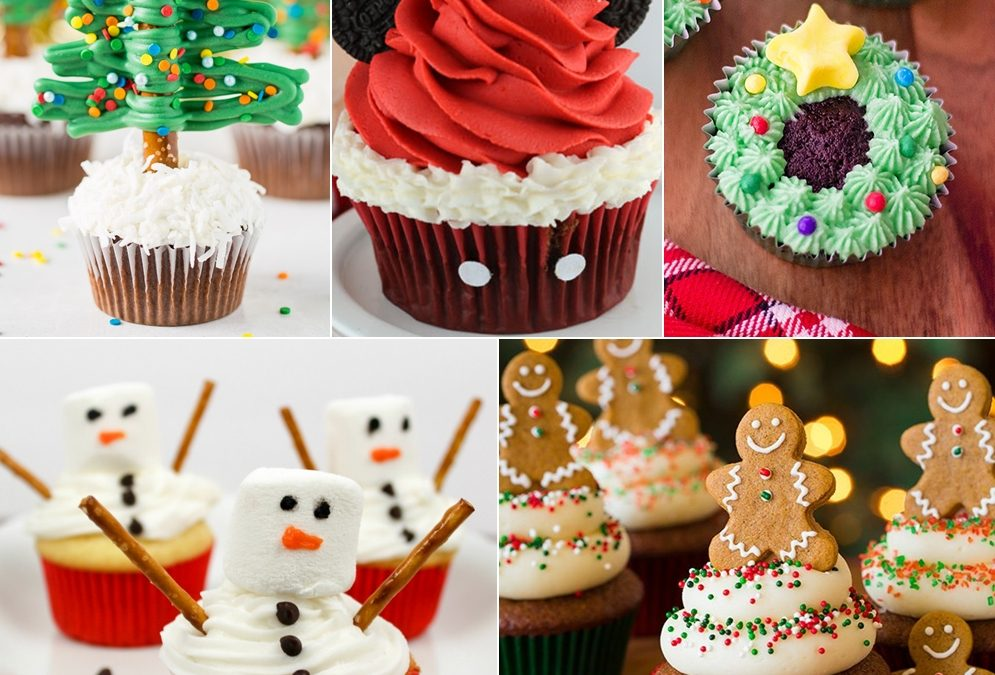 Look at These Cute Christmas Cupcakes That You will Love