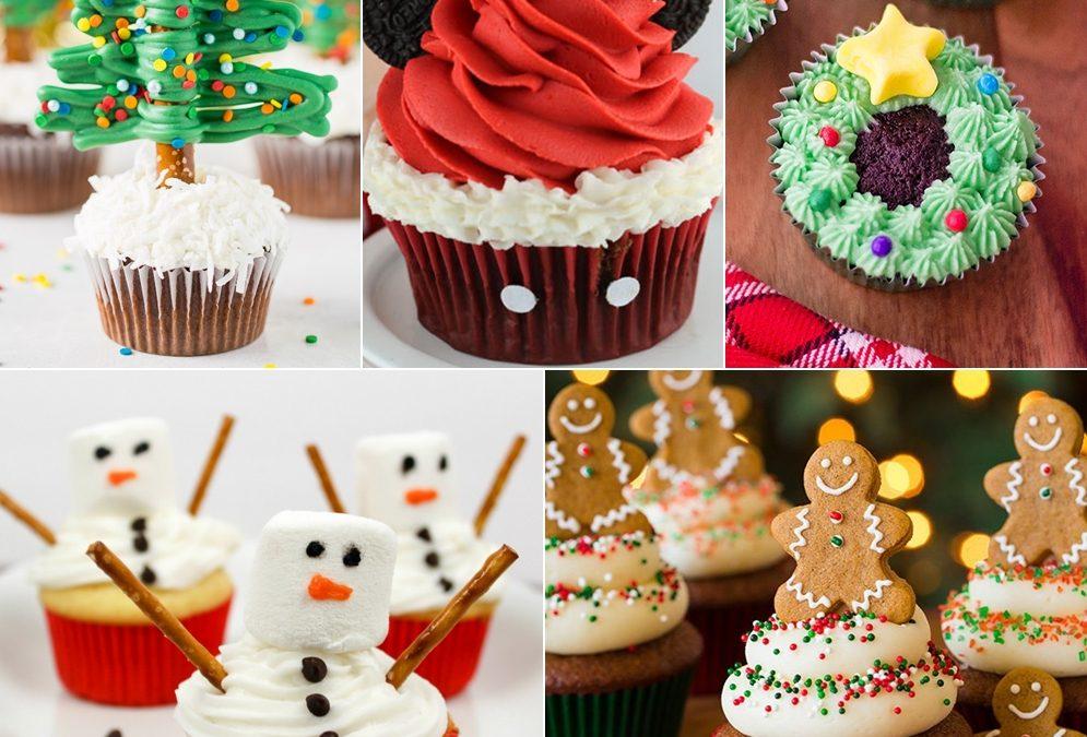 Χριστουγεννιάτικα Cupcakes Που θα Λατρέψεις