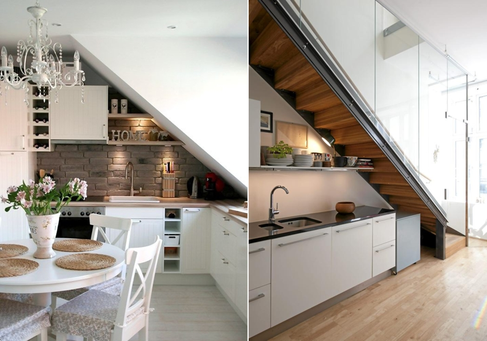 Under the stairs storage and decorating ideas