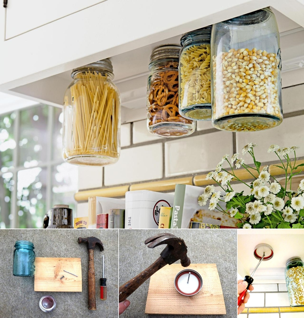 Easy Kitchen Storage
