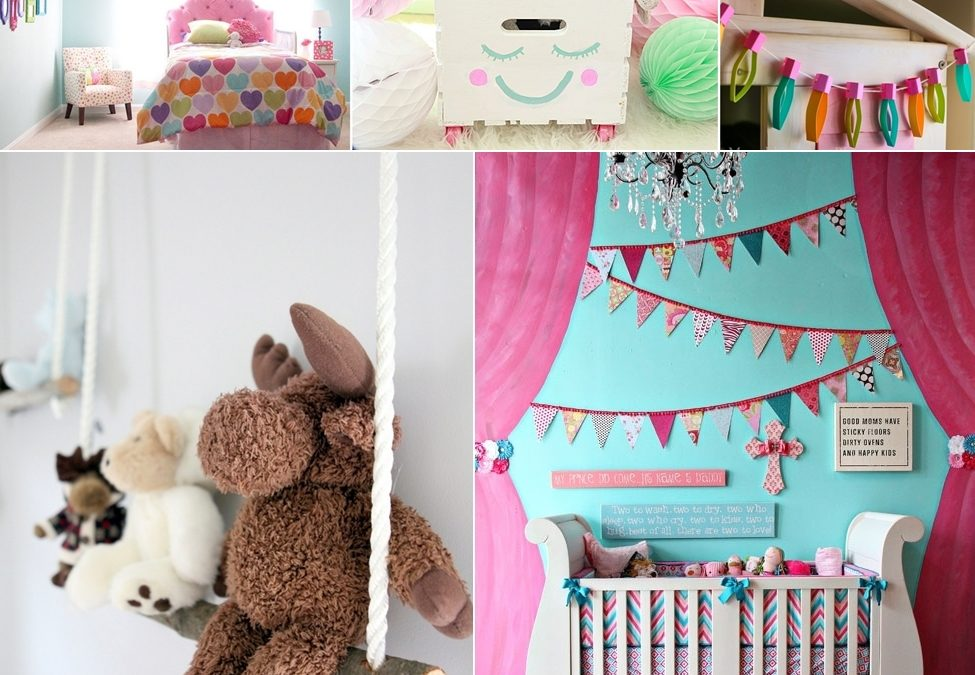 Easy DIY Ideas for Kids Bedrooms