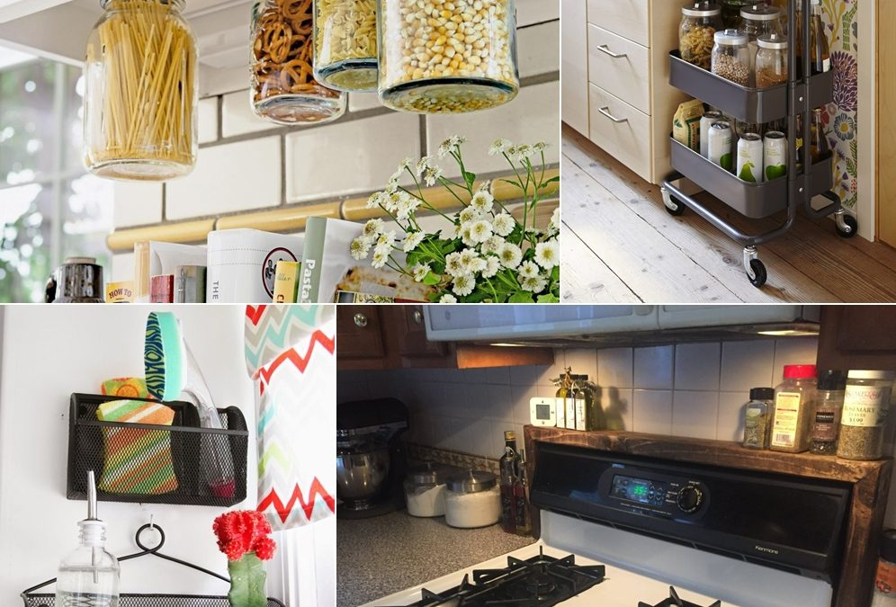 Neat Tips and Tricks for Easy Storage Around The Kitchen