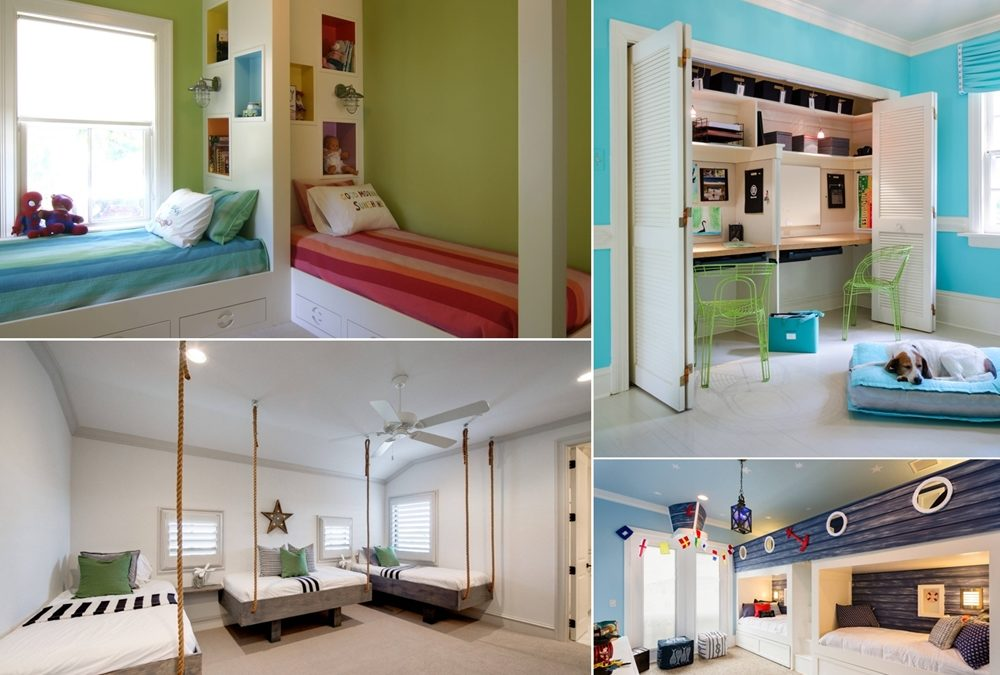 How to Plan and Design A Shared Kids Room