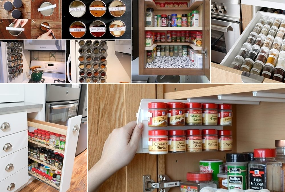 Ideas for Storing Spices in Your Kitchen