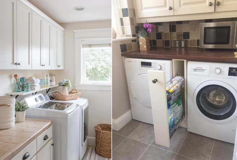 Clever Laundry Room Storage Ideas
