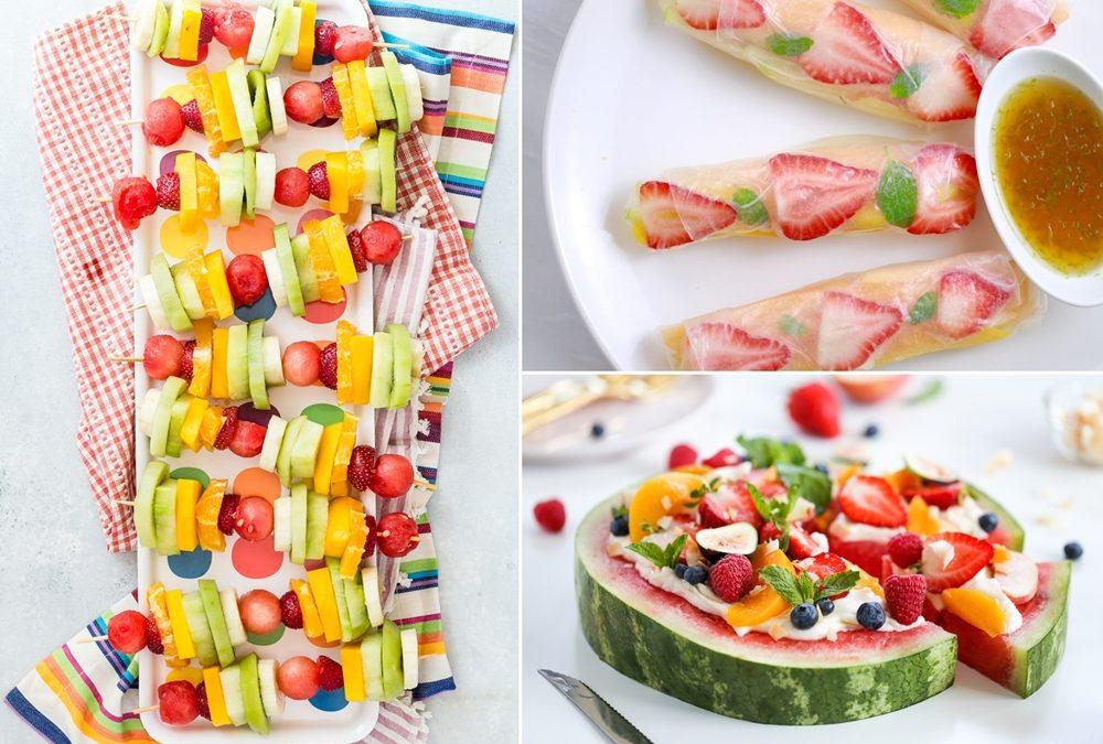 Πεντανόστιμες Καλοκαιρινές Συνταγές με Φρούτα