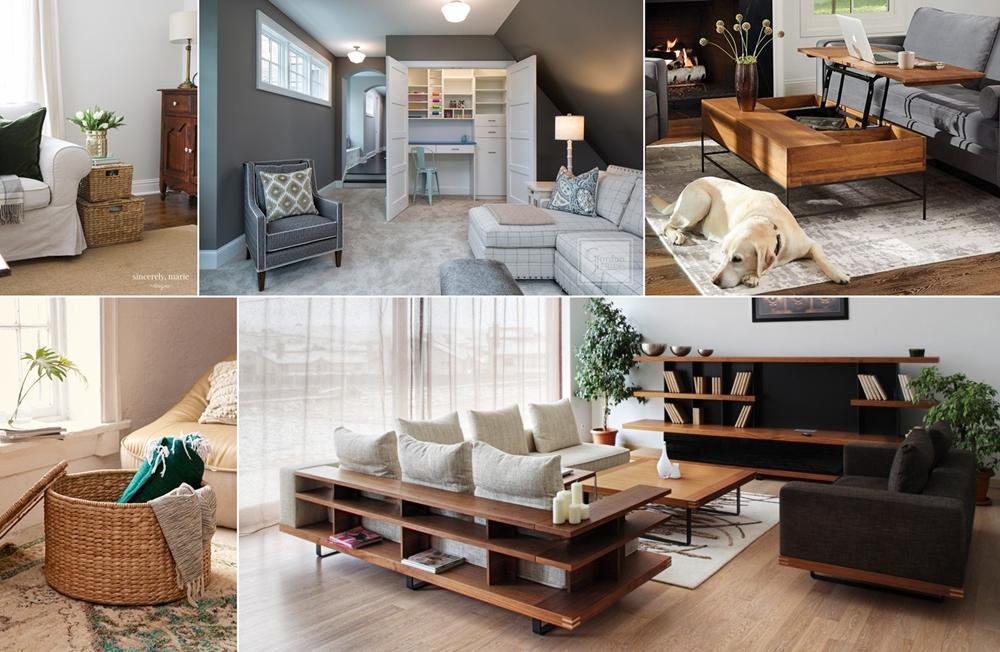 Wonderful Living Room Storage Ideas