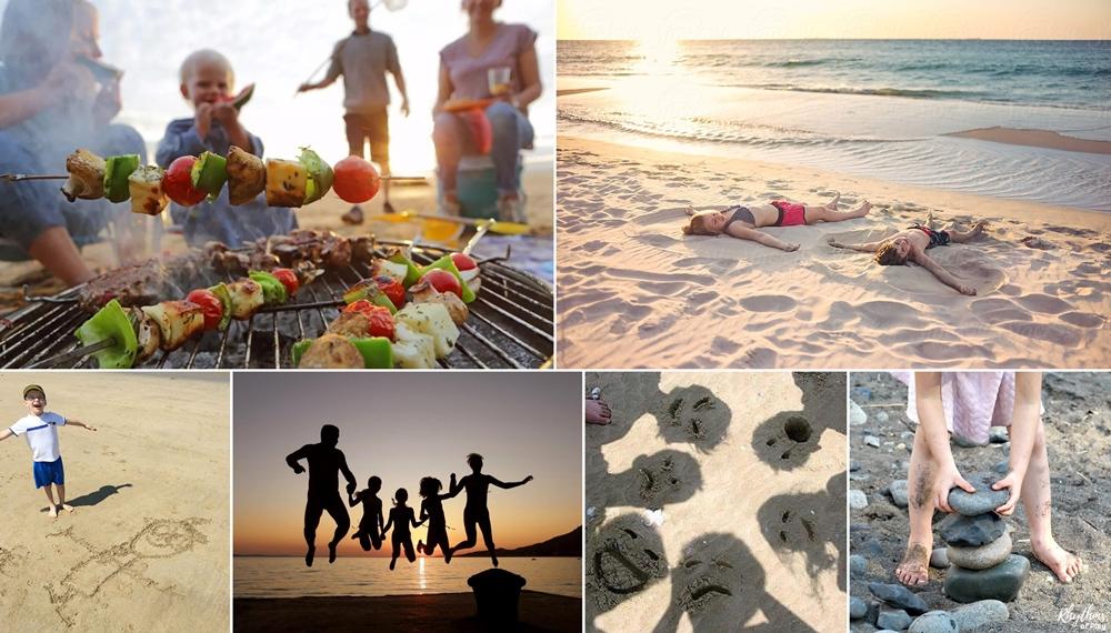 10 Δραστηριότητες για Εσάς και τα Παιδιά σας στην Παραλία