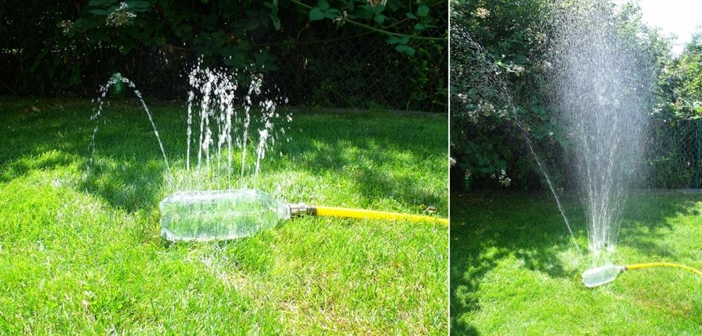 DIy water sprinkler