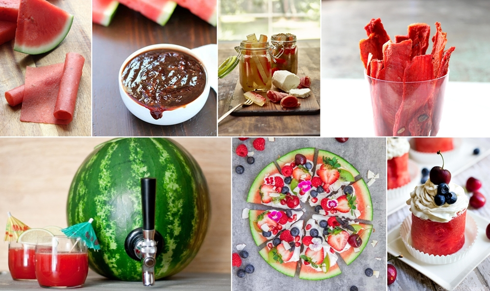 10 Πράγματα για να Κάνετε με ένα Καρπούζι