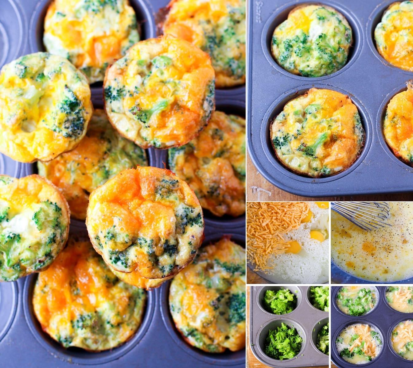 five ingredient egg muffins