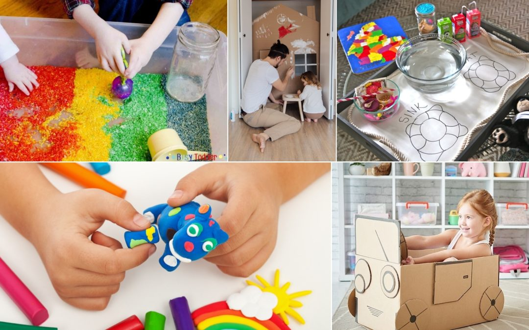 Fun Ways to Keep Young Kids Occupied Indoors